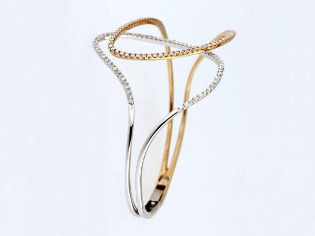 Free Form Bangle Bracelet