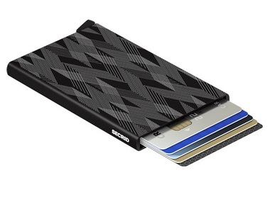 Black Zigzag Card Protector