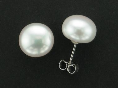 9.5 - 10mm Pearl Stud Earrings