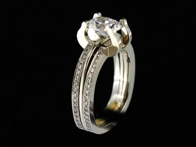 1.13ct Oval Engagement Ring