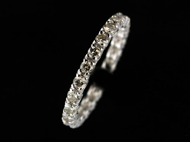 14KT 0.90ctw Diamond Eternity Band