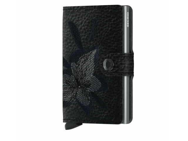 Secried Magnolia Wallet in Black