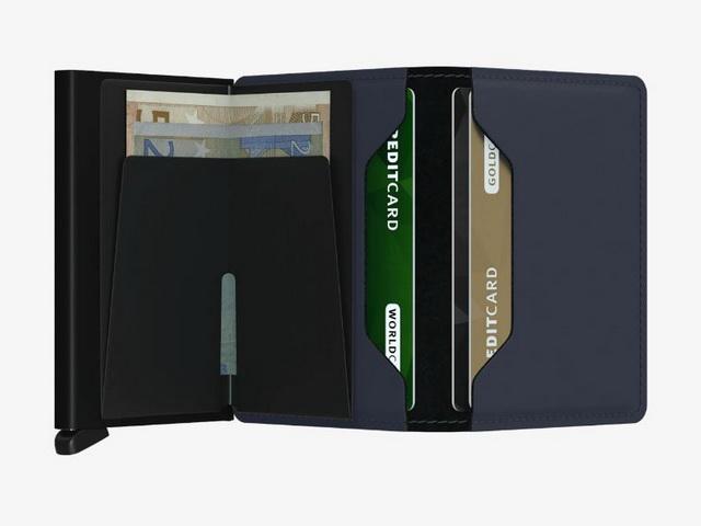 Midnight Matte Blue Wallet