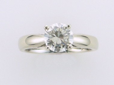 1.05ct Si1 P Engagement Ring