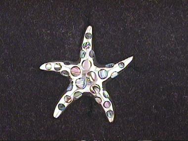 M O P Starfish Pendant