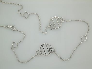 Fancy Silver Chain