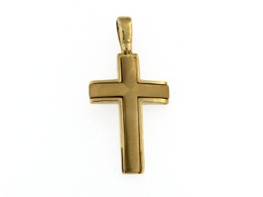 10KT Yellow Cross