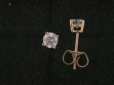 .50ctw I1 F G Diamond Studs