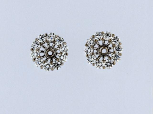 14kw 1.15ctw Earring Jackets