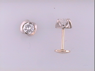 14ky .50ctw Diamond Stud Earrings