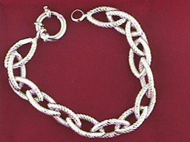 14kt Fancy Bracelet 7.50 Inch