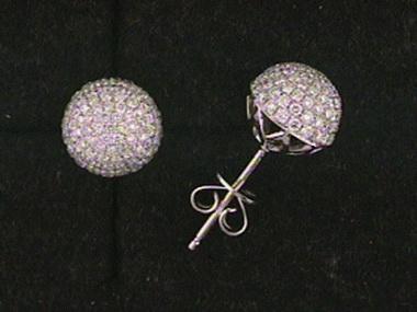 1.05 Ctw Diamond Stud Earrings