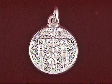 Round Medic Pendant