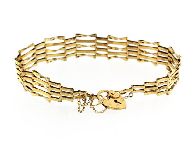 9kt Gate Bracelet