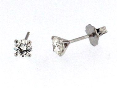 0.58 ctw Diamond Studs