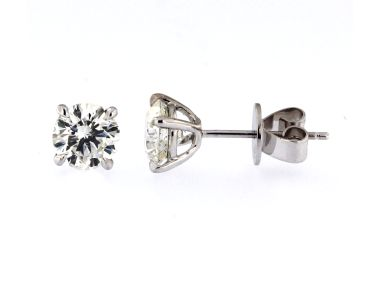 2.61 ctw Diamond Studs