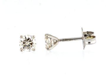 0.60 cts Diamond Stud Earrings