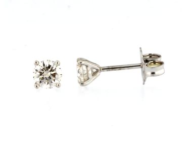 0.87 ctw Diamond Stud Earrings