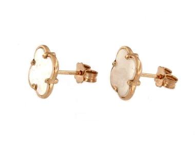 Quatrefoil Stud Earrings