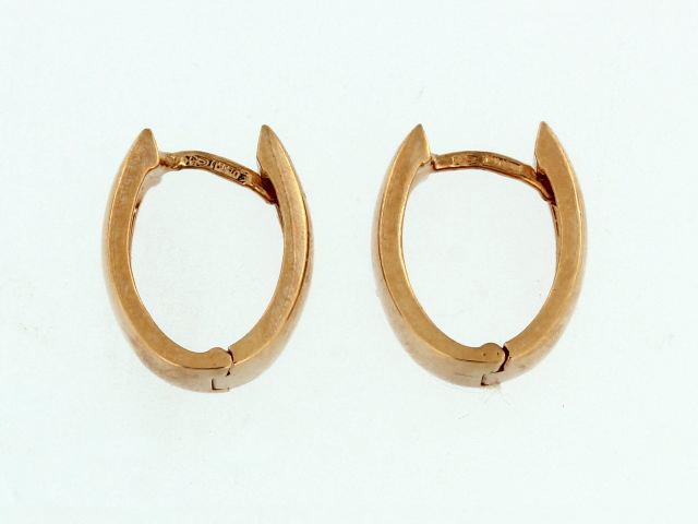 Rose Huggie Earrings