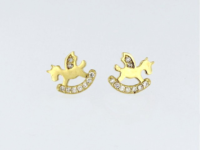 Rocking Horse Earrings