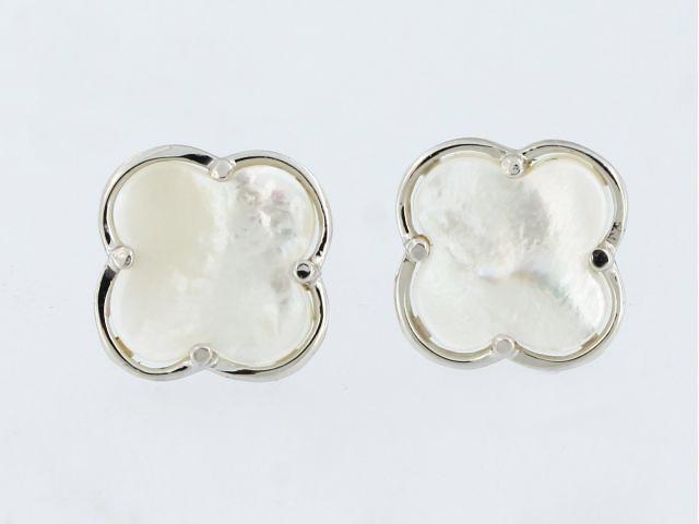 MOP Qutrefoil Earrings