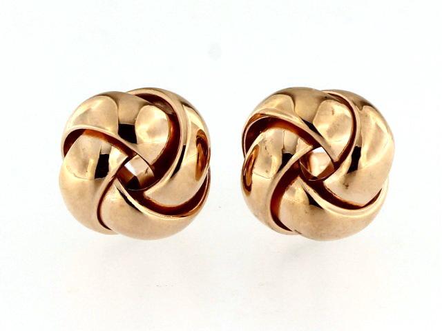 10KT Love Knot Earrings