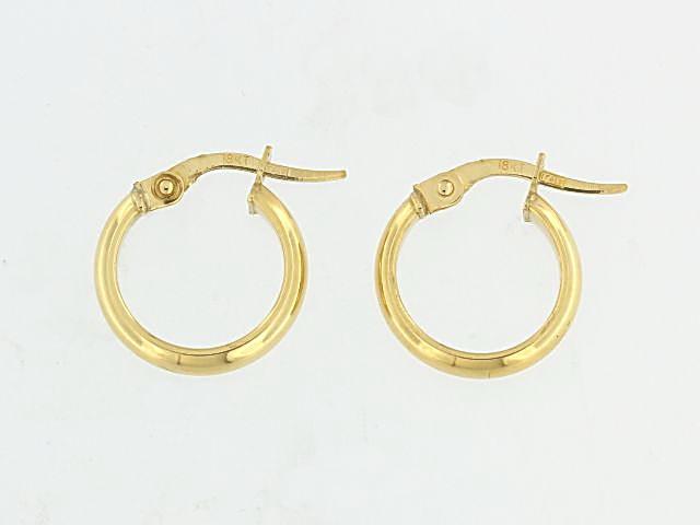 18KT Small Hoop Earrings
