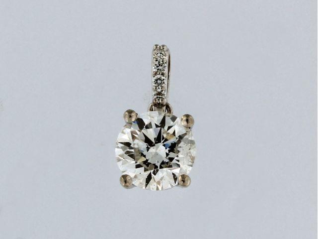 1.11 ct Diamond Pendant