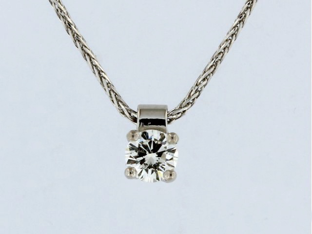 0.33 ct Diamond Pendant