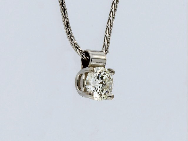0.46 ct Diamond Pendant