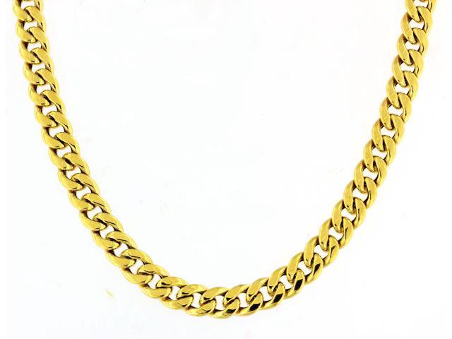 10KT Curb Chain