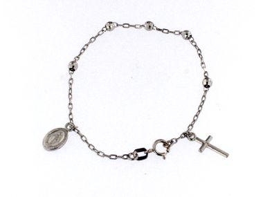 14KT Rosary Bracelet