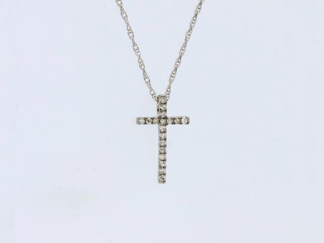 Diamond Cross & Chain