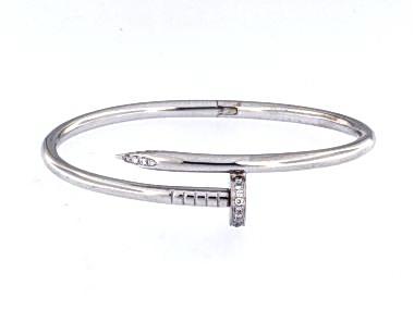 """18KT """"Lucky Nail"""" Bracelet"""