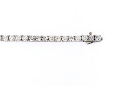 14KT 7.00 ct Diamond Bracelet
