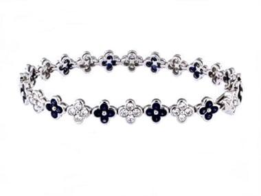 Sapphire & Diamond Bracelet