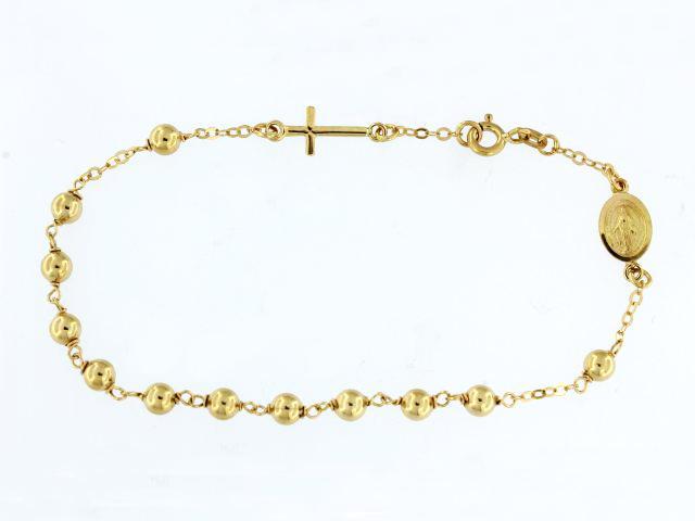 18KT Rosary Bracelet