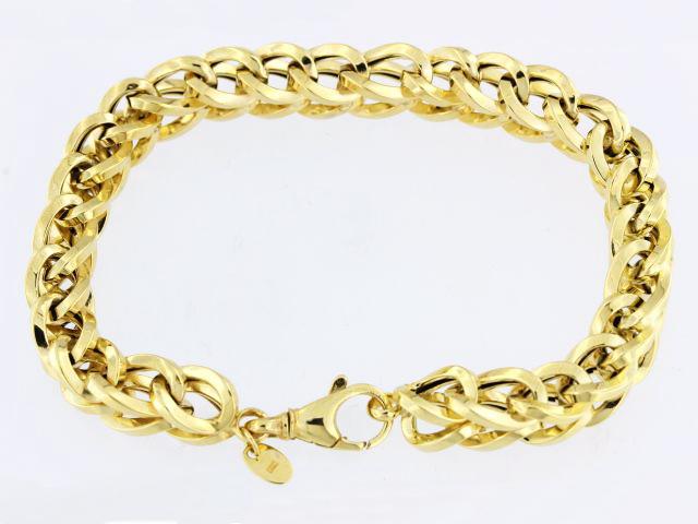 Fancy Woven Link Bracelet