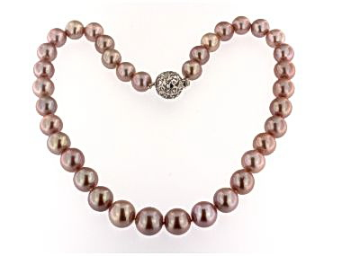 Edison Pink Pearl Necklace