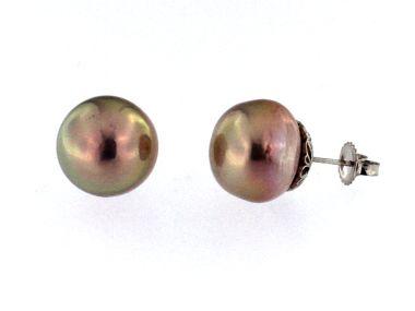 14 - 15 mm FW Pearl Earrings
