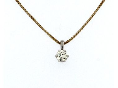 0.56 ct Diamond Pendant
