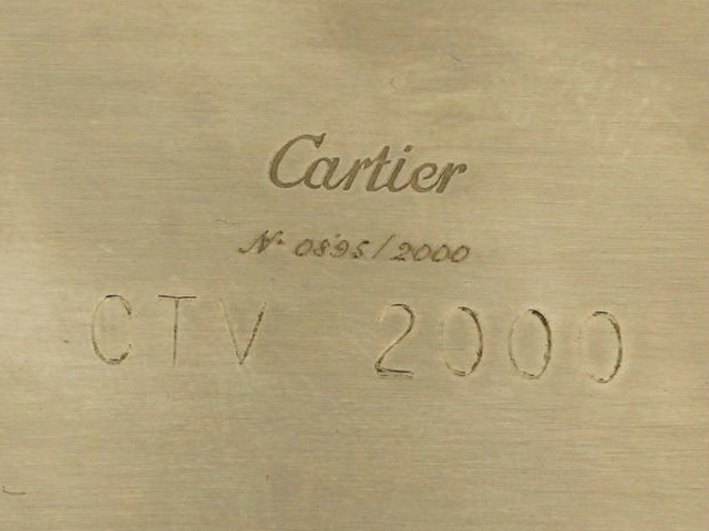 Ltd Edition Cartier Desk Calendar