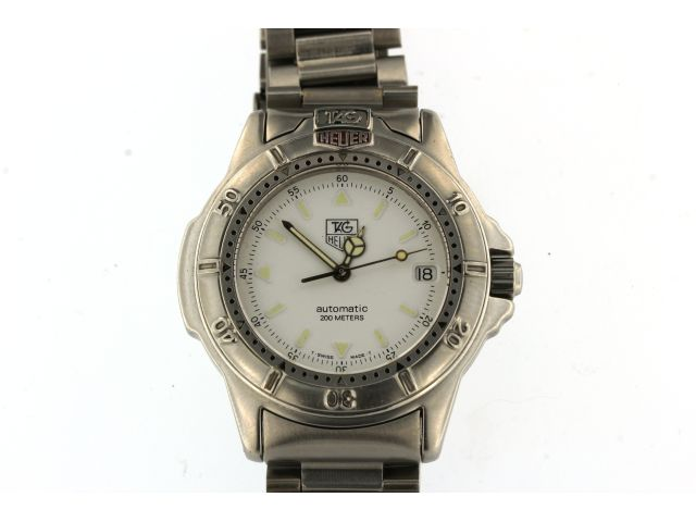 Tag Heuer White Dial Gent's Automatic