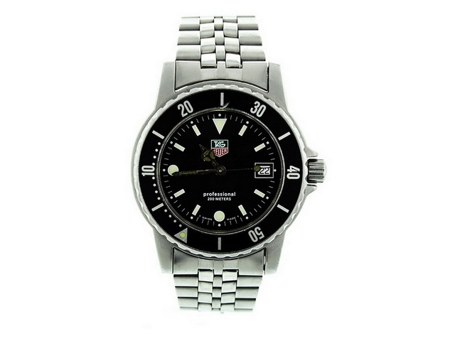 Tag Heuer Black Dial Quartz Gent's Watch