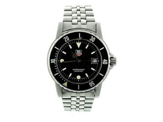 Tag Heuer Black Dial Quartz Gent's Watch