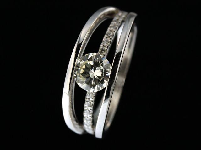 0.83 ctw  Fancy Diamond Ring