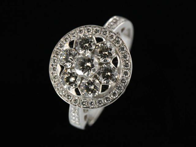 1.37 ctw Diamond Ring