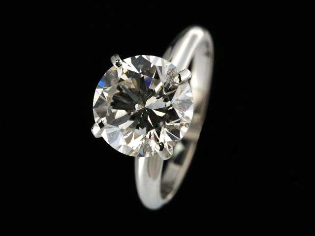 Platiunum 3.65ct. Diamond Ring