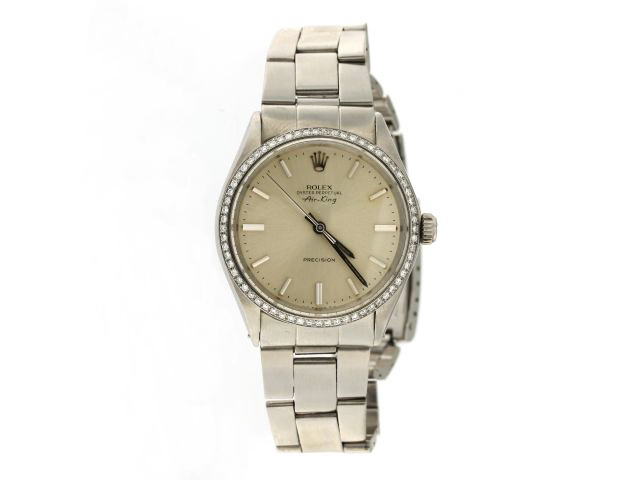 Vintage Rolex with Diamond Bezel